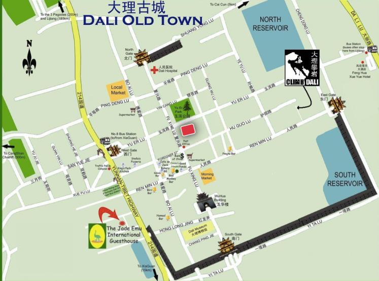 dali map